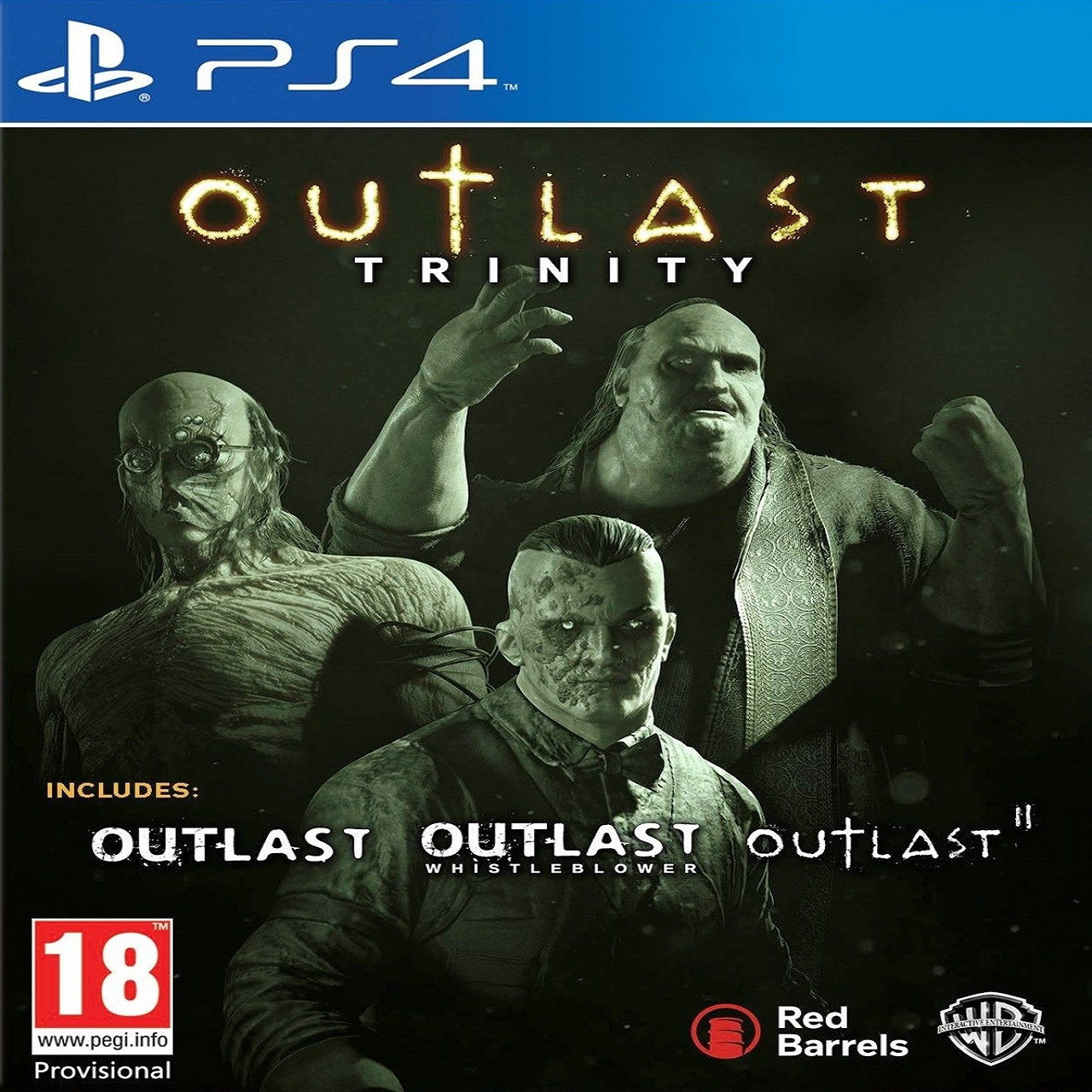 Outlast Trinity RUS PS4 (NEW)