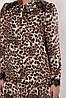 Платье с длинным рукавом Лея леопард, фото 5