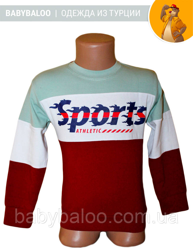 """Батник """"Sports""""  (от 1 до 4 лет)"""