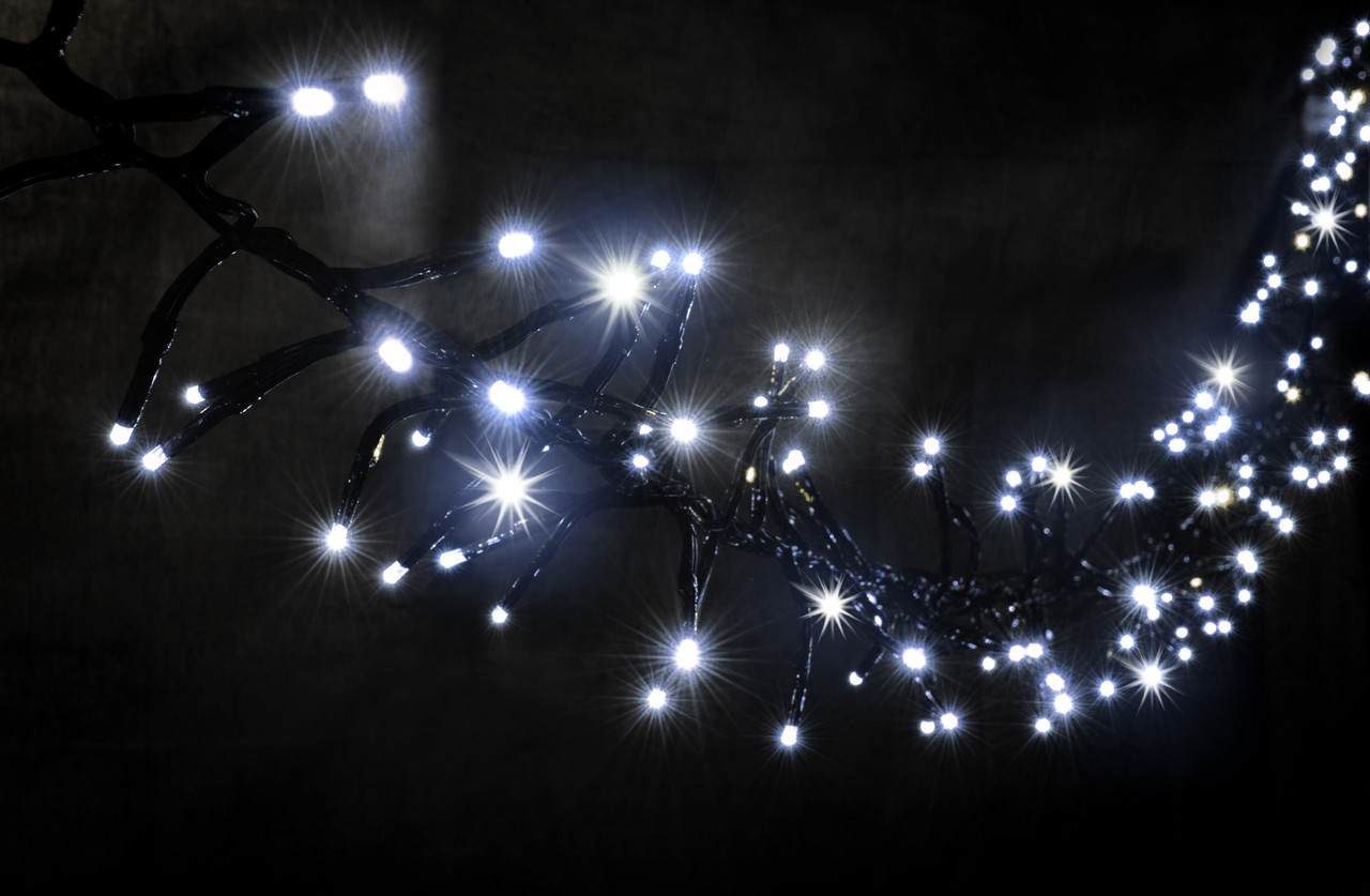Уличная светодиодная гирлянда Lumion Magic String Light (Меджик стринг) 240 led наружная бел.хол. с мерцанием