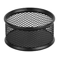Подставка для скрепок Axent металлическая чёрная