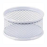 Подставка для скрепок Axent металлическая белая