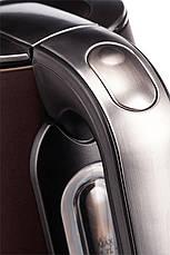 Электрочайник ECG RK 1795 ST Chocco 1.7 л Темно-коричневый, фото 2