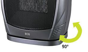 Тепловентилятор керамический ECG KT 10 750/1500 Вт Черный, фото 2