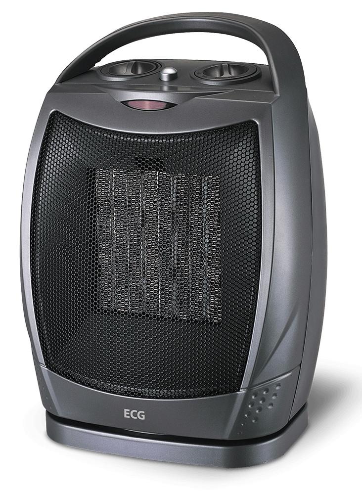 Тепловентилятор керамический ECG KT 10 750/1500 Вт Черный