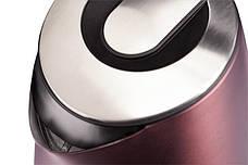 Электрочайник ECG RK 1795 ST Chocco 1.7 л Темно-коричневый, фото 3