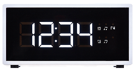 Радиочасы ECG RB 040 Белый