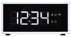 Радіогодинник ECG RB 040 Білий