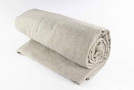 Льняные одеяла с льняной тканью Lintex Полуторное Лен Светло-серый