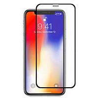 Защитное стекло 5D (монолит) для iPhone X / Xs / 11 Pro Black