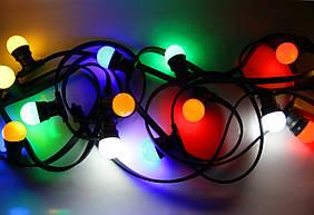Уличная светодиодная гирлянда Lumion Belt Light String (Белт лайт стринг) 50 м 125 ламп наружная цвет наборной