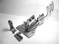 K10 Окантователь в 4 сложения для косой бейки с регулировкой наклона подачи бейки, фото 1