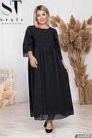 Длинное платье с кружевом 53119