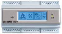 """""""Euroster"""" UNI 1 - контроллер угольного котла с питателем,  функциями ГВС  и управлением смесите"""