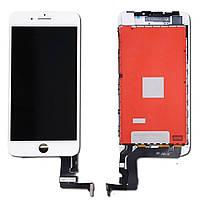 Дисплей для iPhone 8 Plus, модуль в сборе (экран и сенсор), с рамкой, белый, оригинал (100%)