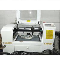 Лазерная раскройная машина GN4060 с полем 40*60 см на 100 Вт
