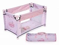 Манеж кроватка для кукол Maria Collection с аппликацией (Испания)