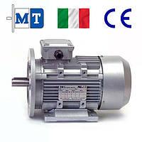 Электродвигатели асинхронные трехфазные. Исполнение- на лапах и с фланцем. 750 об/мин, 1.5 кВт