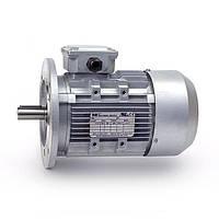 Электродвигатели асинхронные трехфазные. Исполнение- на лапах и с фланцем. 750 об/мин, 0.25 кВт