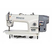 Minerva M8180B-JDE  Промышленная прямострочная швейная машина с увеличенным челноком, фото 1