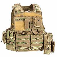 Жилет тактический Defcon 5 ARMOUR CARRIER VEST ц:мультикам (D5-BAV06 MC)