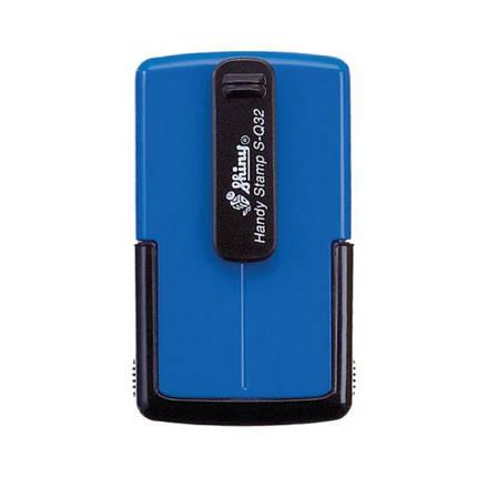 Оснастка Shiny S-Q32 карманная для печати или штампа 32x32 мм, фото 2