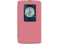 Чехол для VOIA LG Optimus L80 Dual D380 - Flip Case Pink