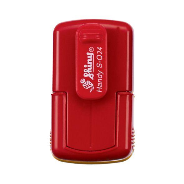 Оснастка Shiny S-Q24 кишенькова для печатки або штампа 24x24 мм