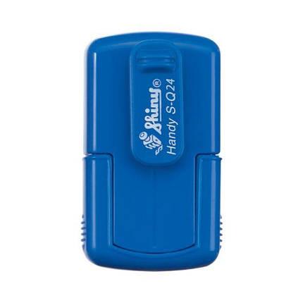 Оснастка Shiny S-Q24 кишенькова для печатки або штампа 24x24 мм, фото 2