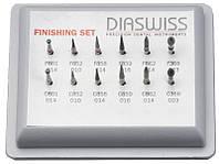 Набір алмазних борів Finishing Set 366 (12 шт)