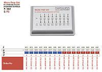 Набір алмазних борів (16 шт) для мікропрепарування під турбінний наконечник Micro Prep Set 362 Diaswiss