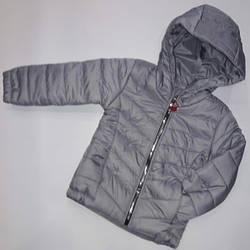 Детская куртка на синтепоне , для мальчиков и девочек  ростом 92-116 см (5 ед. в уп.)