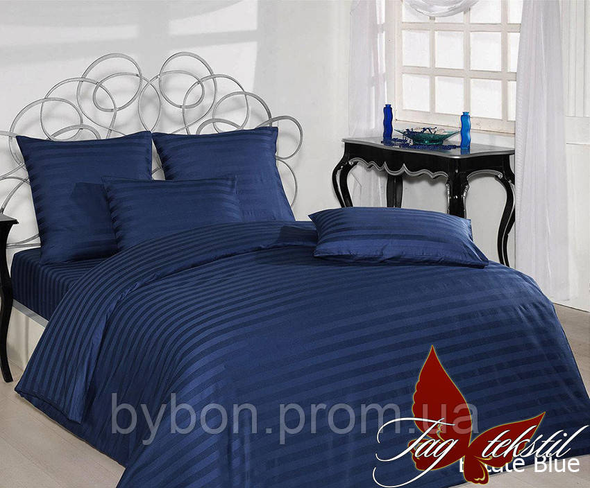 ТМ TAG Простынь на резинке 160х200х20 (Estate Blue)