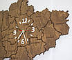 Карта Украины с  часами, фото 9