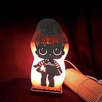 Соляная лампа Куклы ЛОЛ