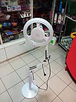 Лампа напольная для всех мастеров белая на стойке, фото 1