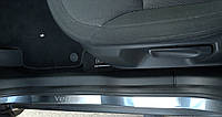Накладки на пороги Skoda Yeti 2009- 6шт. premium, фото 1