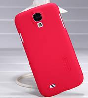 Чехол для NILLKIN Samsung I9500 - Super Frosted Shield Red
