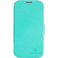 Чехол для NILLKIN Samsung I9500 - Fresh Series Leather Case Blue