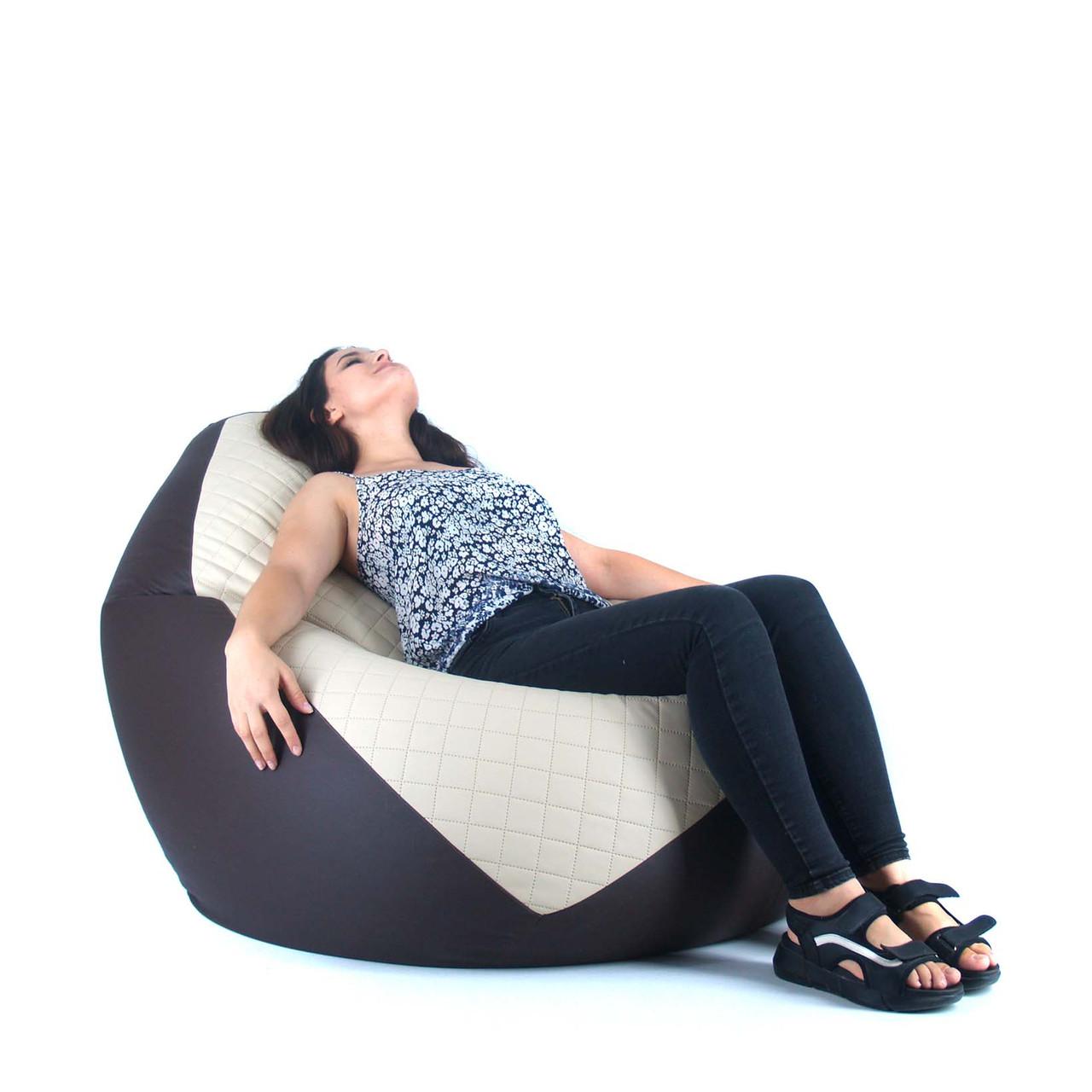 Кресло Мешок, бескаркасное кресло Овал от XL до XXL