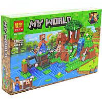 Конструктор Майнкрафт «My world» bela - Дрессировка обезьян, 226 деталей (10961)