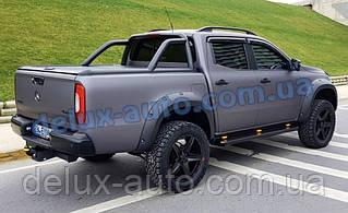 Ролл-бар на пикап для MERCEDES-BENZ X-CLASS Задняя дуга в кузов в черном цвете RollBar на Мерседес Бенц Х