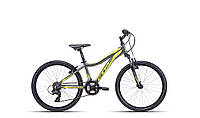 "Детский велосипед  24"" CTM Rocky 2.0 (grey/reflex yellow)"
