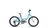 """Детский велосипед 20"""" CTM ELLIE (light green pearl/violet)"""