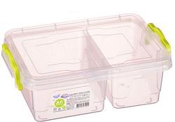 Контейнер для хранения продуктов с зажимами TWIN- 1,03л