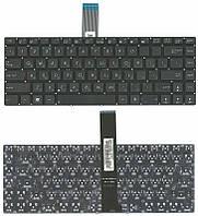 Клавиатура для ноутбука Asus (N46, U46, K45) Black, (No Frame) RU