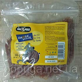 """Лакомство для собак """"PAUSE snack"""", мягкие утиные полоски, 500 г"""