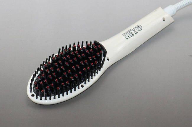 Расчёска для выпрямления волос Gemei GM-2993 с керамическим покрытием, фото 2