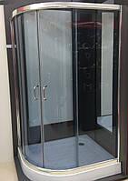 Душова кабіна SANTEH 1015 R G 115х85х195 права