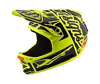 Вело шлем TLD D3 Fiberlite размер L [Factory FLO Yellow]